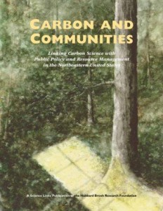 Carbon and Communities report cover